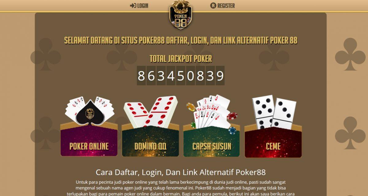 Poker88 Agen Poker Terpercaya dan Terbaik Indonesia
