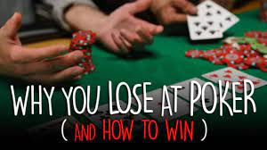 How to Avoid Money Losses in Your Next Online Poker Play